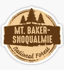 Mt. Baker-Snoqualmie National Forest Sticker