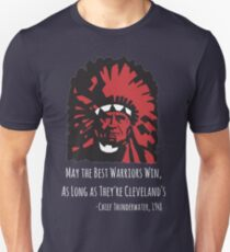 Cleveland Indians - May The Best Warriors Win T-Shirt
