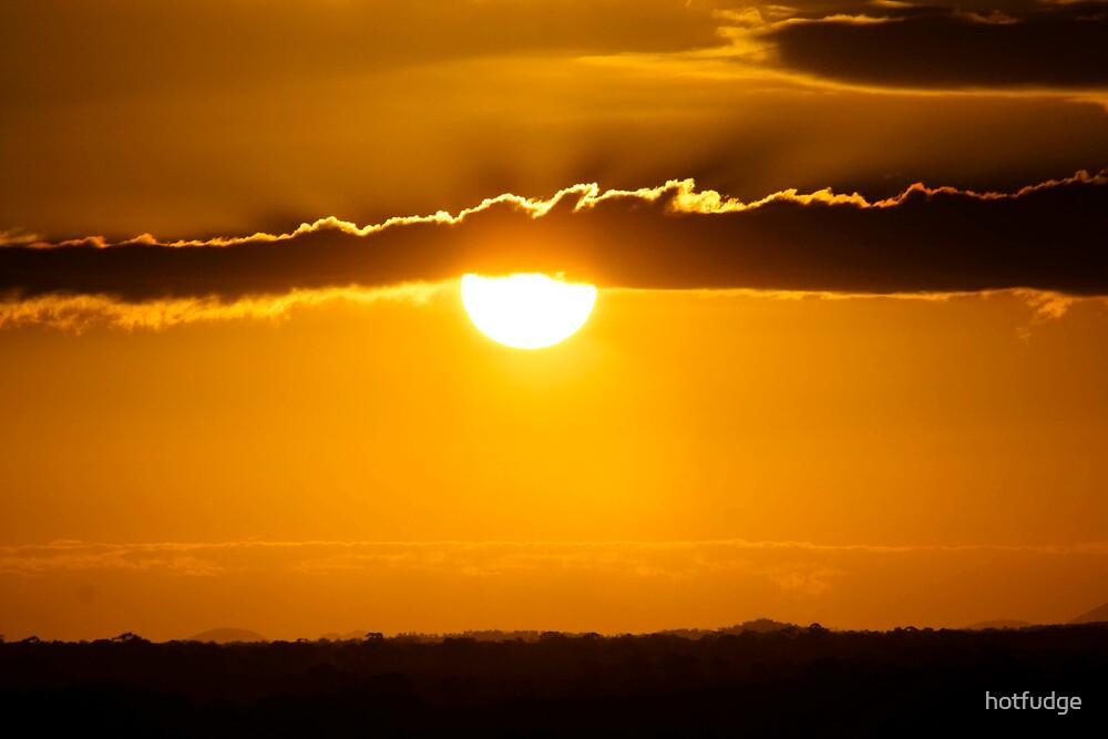 """Sunset over Bowen"" by hotfudge"