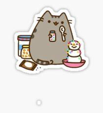 cat buny Sticker