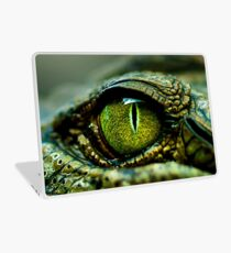 Eye of the Crocodile [iPad / Phone cases / Prints / Decor] Laptop Skin