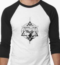 Saturn's Return in Sacred Geometry Men's Baseball ¾ T-Shirt