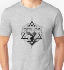 Saturn's Return in Sacred Geometry Unisex T-Shirt