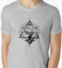 Saturn's Return in Sacred Geometry Men's V-Neck T-Shirt