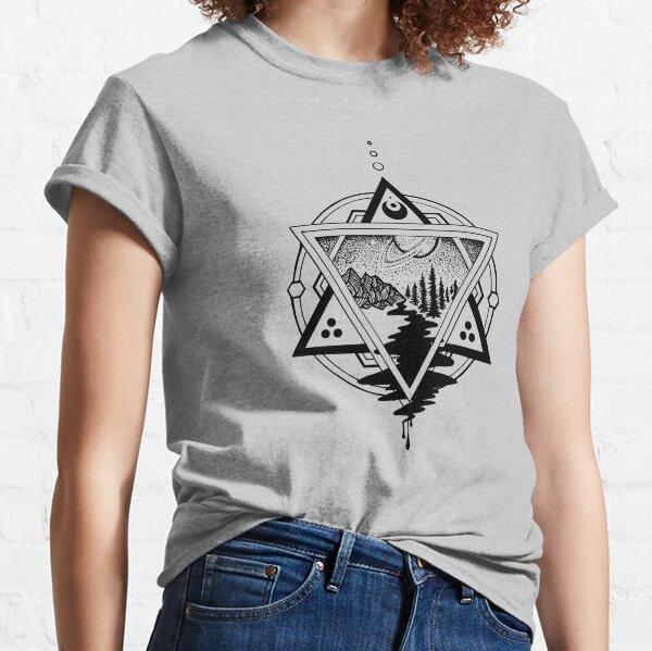 Saturn's Return in Sacred Geometry Classic T-Shirt