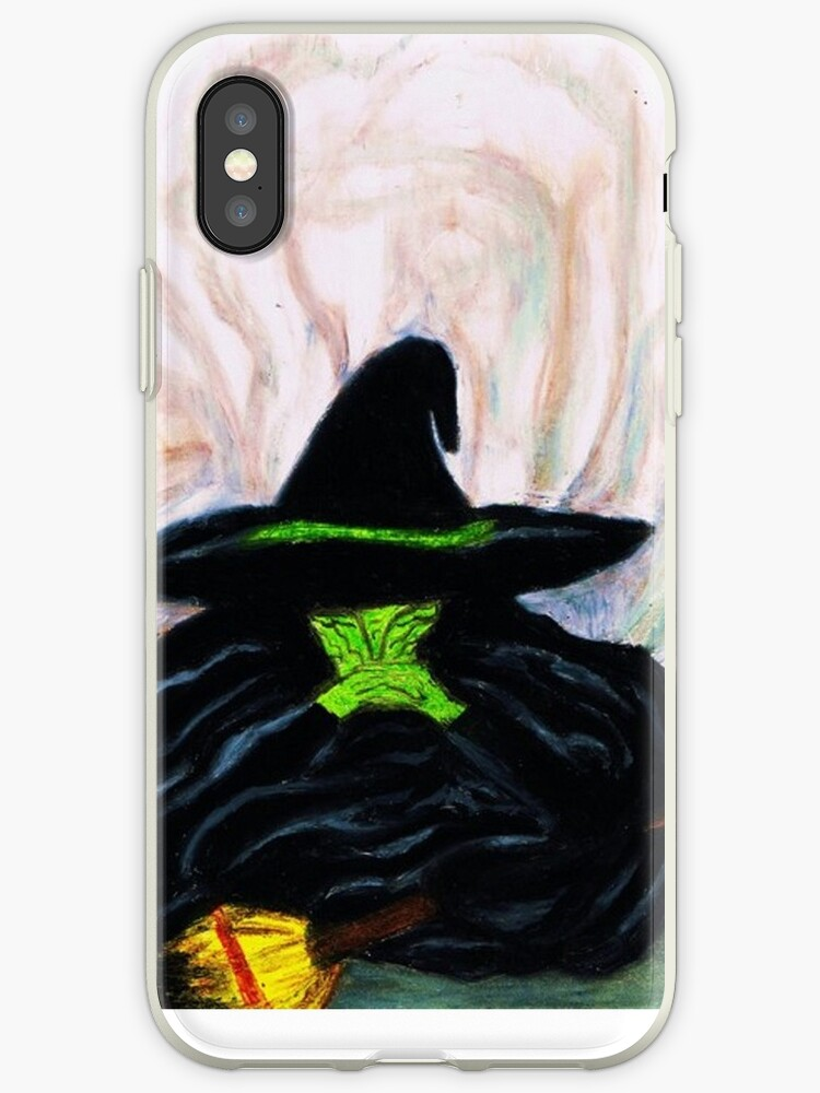 wizard of oz wicked witch iphone case