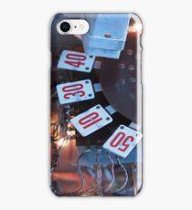 Dial-a-score iPhone Case/Skin