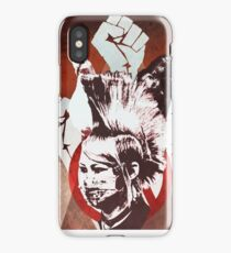 hey, uh,  thats pretty punk rock, bro iPhone Case/Skin
