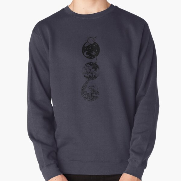 Star Dust to Sea Foam Pullover Sweatshirt