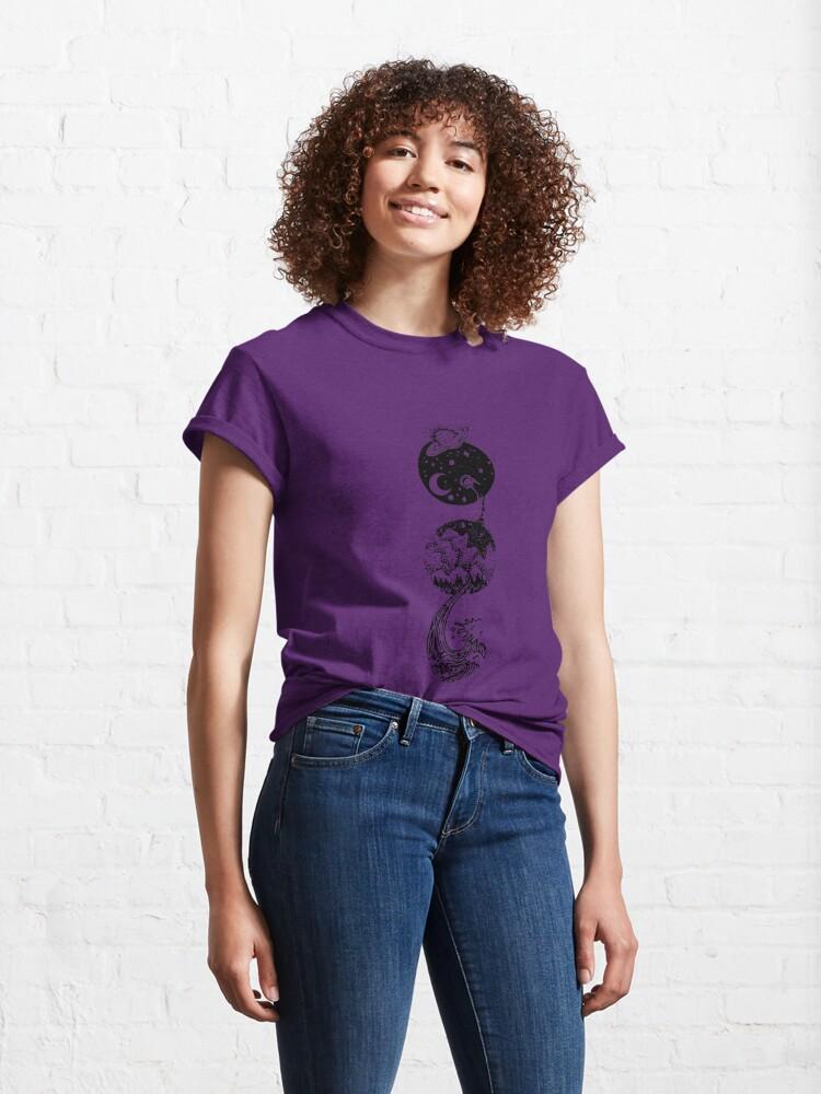 Alternative Ansicht von  Tropfen und Fest. Es bleibt nur Staub übrig. Classic T-Shirt