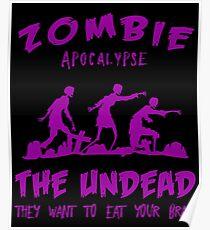 Zombie Apocalypse The Undead Poster