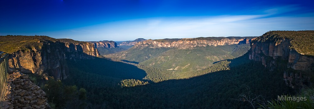 Govetts Leap Blue Mountains NSW by MiImages