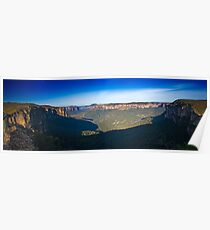 Govetts Leap Blue Mountains NSW Poster