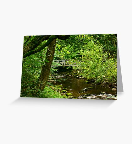 Across the River Twiss Greeting Card