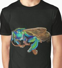Orchid Cuckoo Bee Graphic T-Shirt