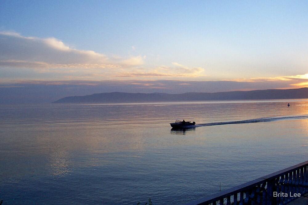 Twilight on the Lake by Brita Lee