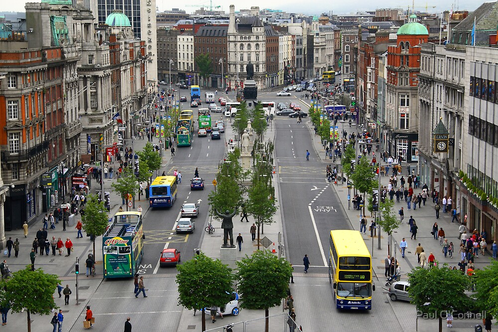 O' Connell Street. by Paul O'Connell