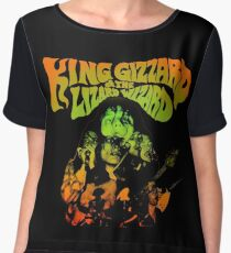 king gizzard and lizard the wizard Chiffon Top