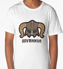 Dovahkiin Helmet Long T-Shirt