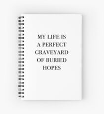 Anne of Green Gables–Perfect Graveyard of Buried Hopes Spiral Notebook
