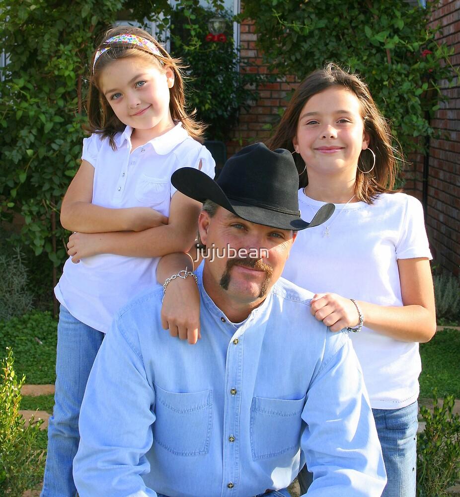 Daddy's girls by jujubean