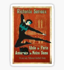 The Great Richarde Serieux Sticker