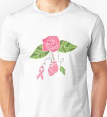 Breast Cancer Flower T-Shirt
