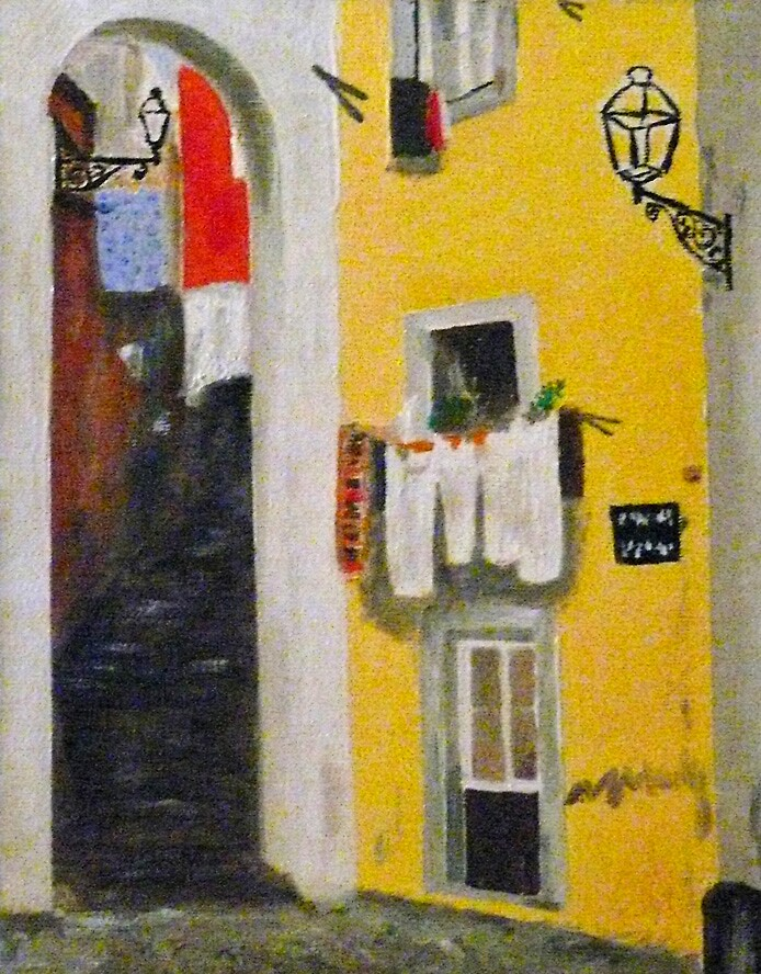 Alfama  Lisbon by Abel