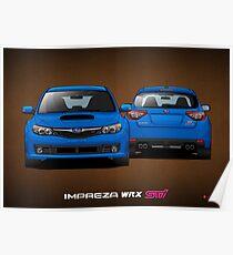 Subaru Impreza WRX STi - Third Gen - Hatchback Poster