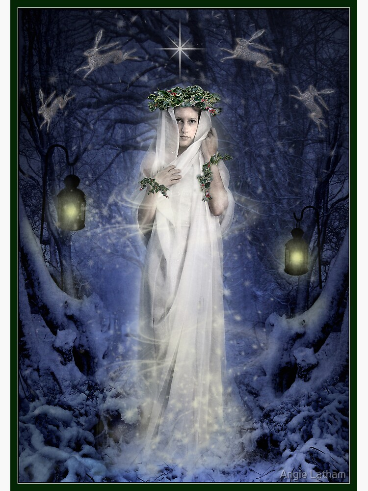 Yule Goddess by AngelaBarnett