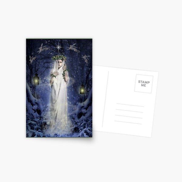 Yule Goddess Postcard