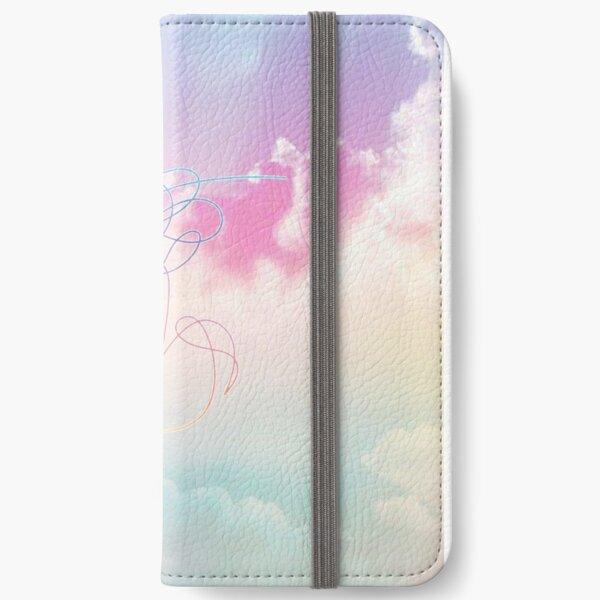 Love Yourself Her Pastel Clouds BTS Bangtan Kpop Merch iPhone Wallet