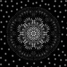 Black Mandala by dcrownfield