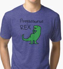 Pregasaurus Rex Tri-blend T-Shirt