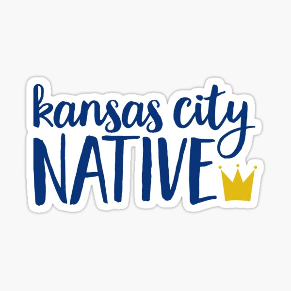 Kansas City Sticker Sticker