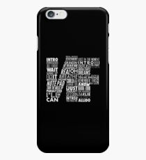 NF - Word Collaboration Design  iPhone 6 Case