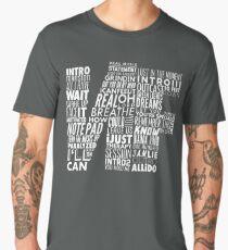 NF - Word Collaboration Design  Men's Premium T-Shirt