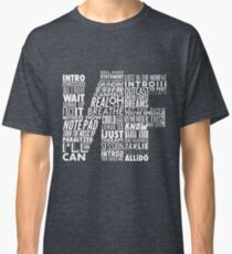 NF - Word Collaboration Design  Classic T-Shirt