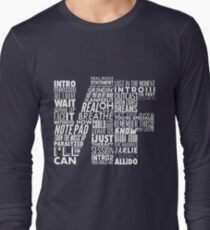 NF - Word Collaboration Design  Long Sleeve T-Shirt