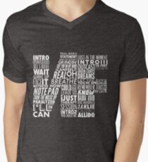 NF - Word Collaboration Design  Men's V-Neck T-Shirt