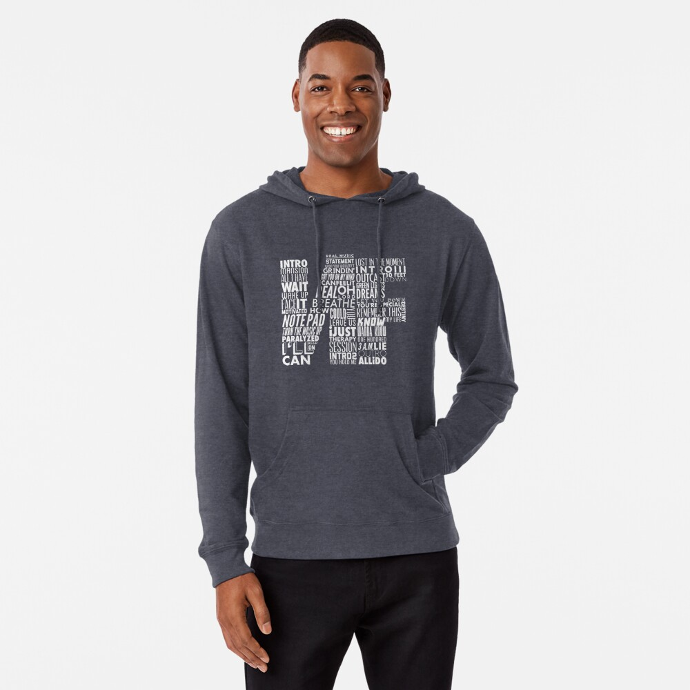 NF Therapy Session Men /& Women Hoodie Word Collaboration Design Hoodie Unisex