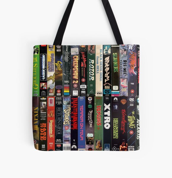 VHS Collection All Over Print Tote Bag