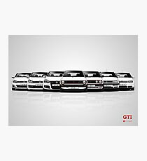 History - Volkswagen Golf GTI Photographic Print