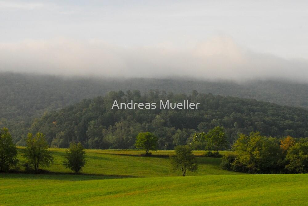 Fields Of Green by Andreas Mueller