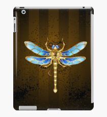 Mechanical Dragonfly ( Steampunk insect ) iPad Case/Skin
