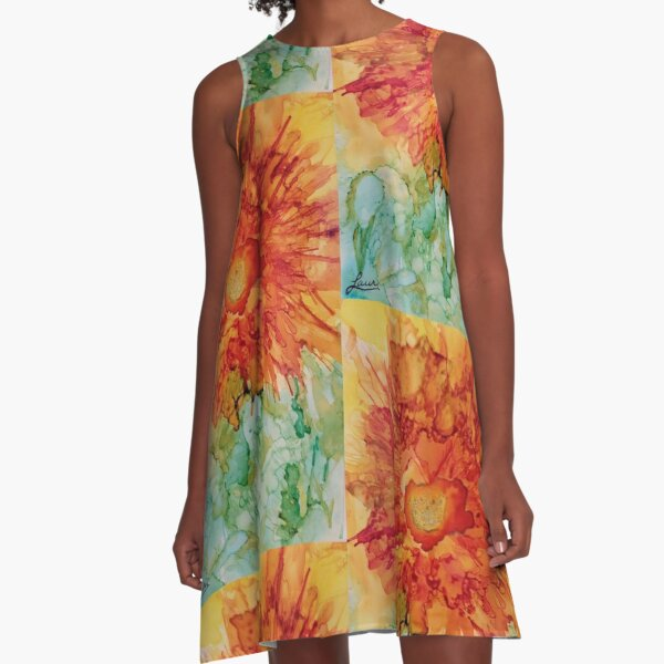 Sunflower #5 A-Line Dress