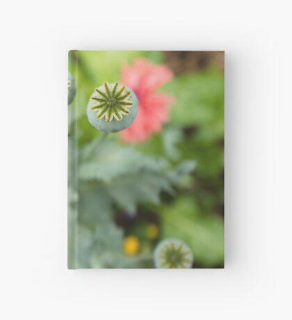 Patterns in Poppy Pods Hardcover Journal