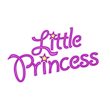 Little Princess pink text graphics by sarahtrett