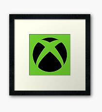 Xbox Green Framed Print