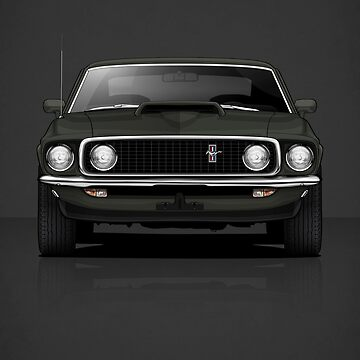 1969 Mustang Boss 429 by m-arts